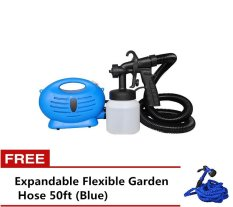Paint Zoom Sprayer with Free Expandable Flexible Garden Hose 50ft (Blue) Philippines