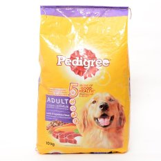 Pedigree Lamb & Vegetables Dry Dog Food 10kg