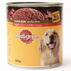 Pedigree New Beef Wet Can Dog Food 700g (2 cans)