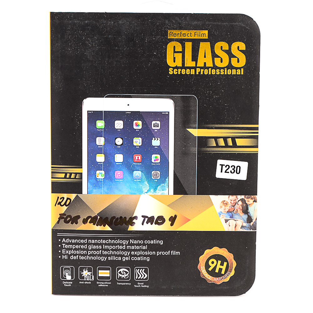 Perfect Film Tempered Glass for Samsung Galaxy Tab 4 (7.0) - thumbnail