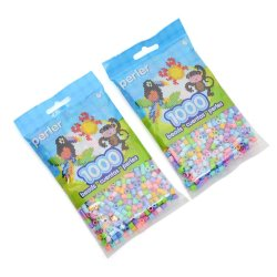 Perler Beads Pastel Mix Bag Beads Pack of 2