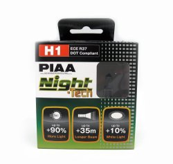 PIAA H1 ECE R37 Night-Tech DOT Compliant Set of 2