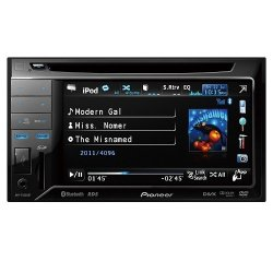 Pioneer AVH-P3350BT Car Stereo (Black)