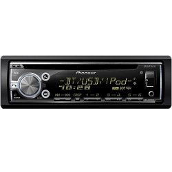 Pioneer DEH-X6750BT Car Stereo (Black)
