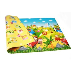 Playmat DWPM-SF01 LG Bumper Playmat For Babies and Kids Safari Medium