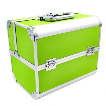 Pop Art Big Professional Make-up Box Case Lana (Apple Green)