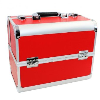 Pop Art Big Professional Make-up Box Case Venus (Red)