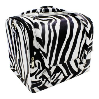Pop Art Professional Make-up Bag Case Bonita (Zebra Stripes)
