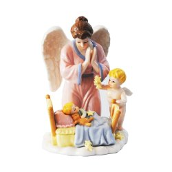 Porcelain Angel Guarding Baby