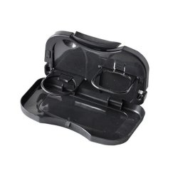 Portable Car Travel Dining Tray (Black)