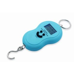 Portable Electronic Hanging Digital Scale (Light Blue)