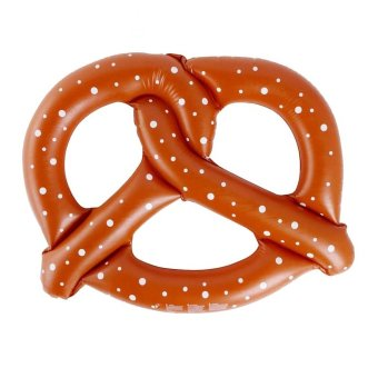 Pretzel Floater (Brown)