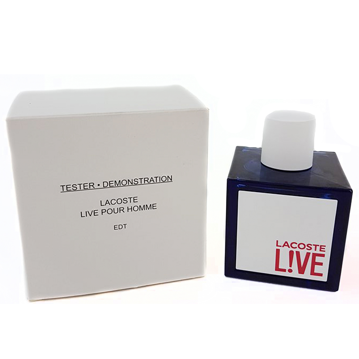 LACOSTE Live Pour Homme Eau de Toilette Spray (TESTER) 100 ml/ 3.3 fl oz (UPC: 737052780429) - LAC-TM-EDT100 product preview, discount at cheapest price