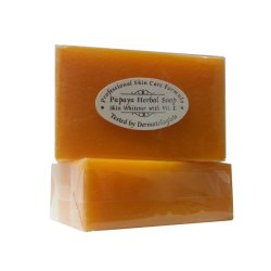 Professional Skin Care Formula  Papaya Herbal Soap Set of 2