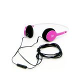QHS-901 Fashion Stereo Headphone (Pink) - thumbnail 1