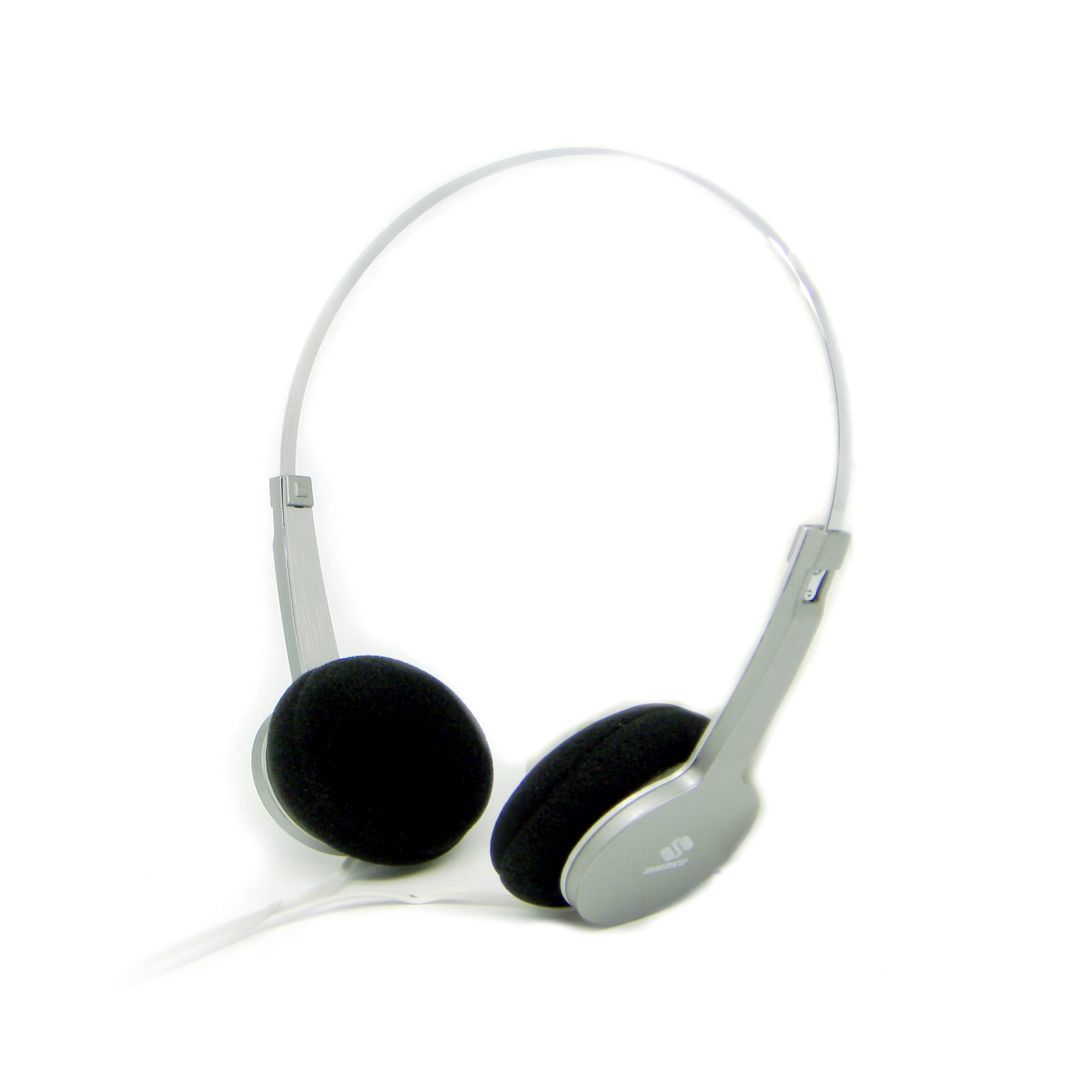QHS-901 Fashion Stereo Headphone (Silver) - thumbnail