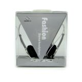 QHS-901 Fashion Stereo Headphone (Silver) - thumbnail 1