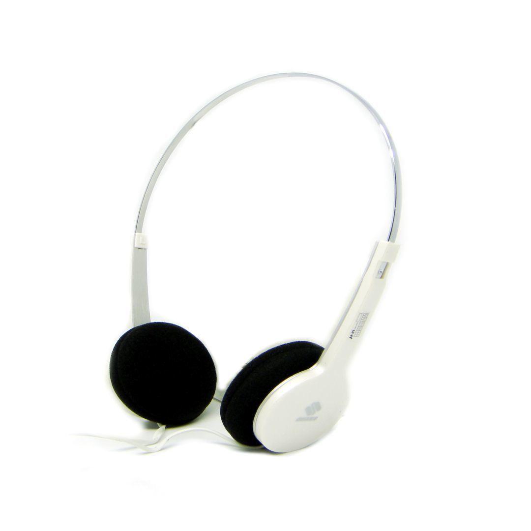 QHS-901 Fashion Stereo Headphone (White) - thumbnail