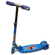 Quality Ride-On Push Scooter For Kids With Laser Wheel (blue) By Xzycollection.