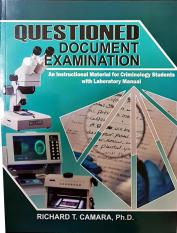 Questioned Documents Exam.-An Instructional Material For Criminology Students With Lab. Manual By Wisemas Books Trading, Inc.
