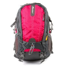 Racini 40-371 Mountaineering Backpack (dark Gray/red Violet) By Racini Bags And Luggages.