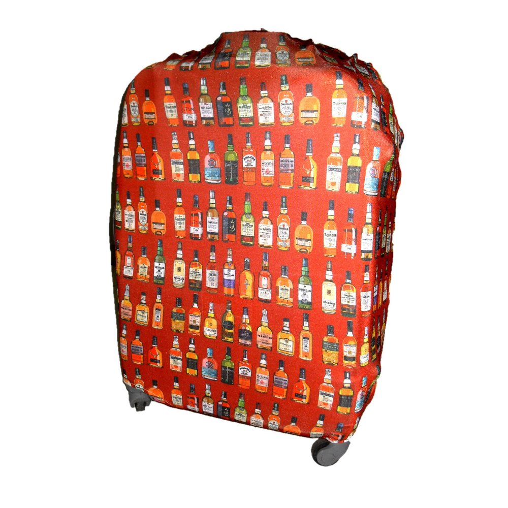 "Raffles Summer Fun Luggage Cover for 24"" Luggage (Red Bottles)"