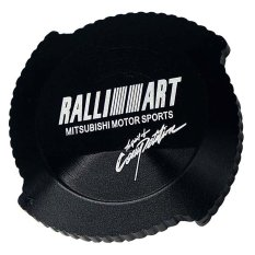 Ralliart Oil Filler Cap (black) By Kingdomcar.