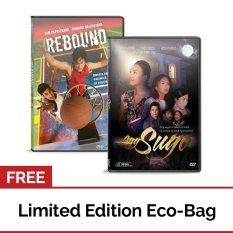 Rebound: Kwento Ng Isang Naniwala At Nagtagumpay + Ang Sugo: Ang Sagot Sa Takot Na Hatid Ng Sumpa Sa Lahat Ng Panahon Dvd With Free Eco Bag By Apmedia Philippines.