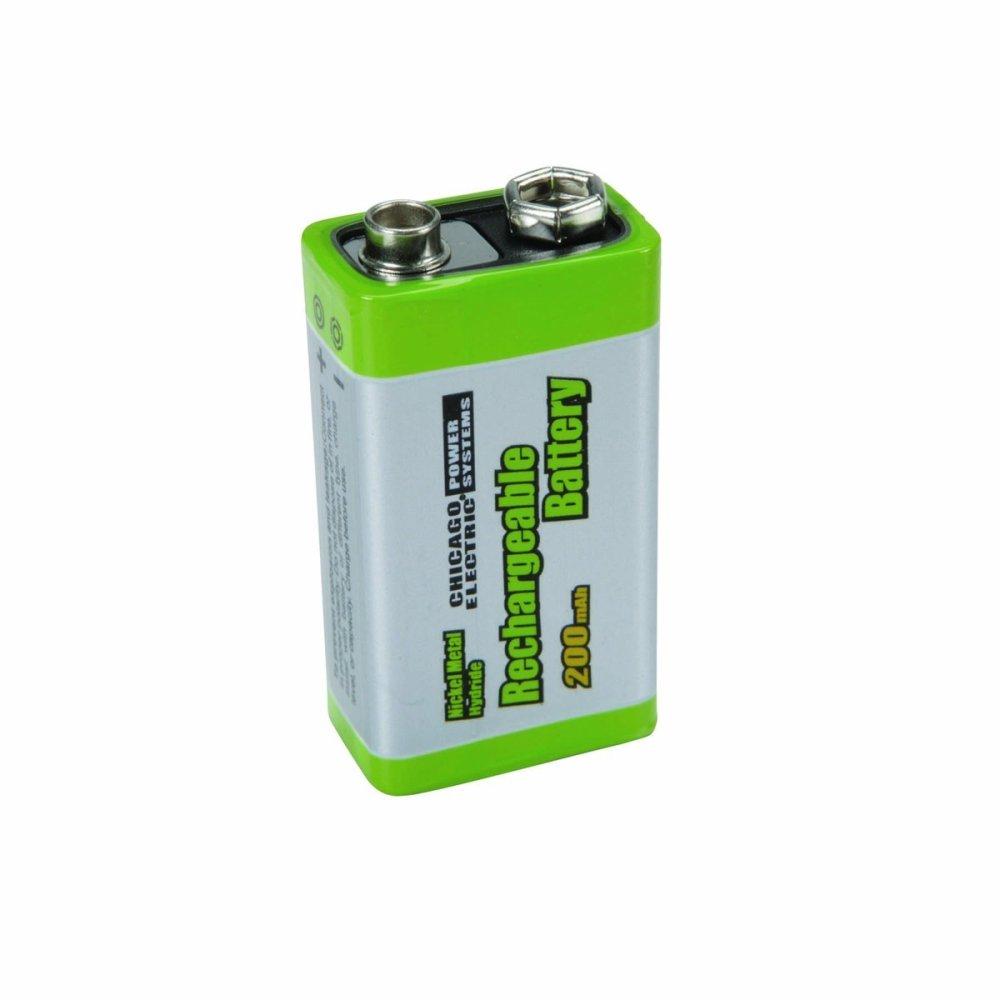 Rechargeable 9V Battery - thumbnail
