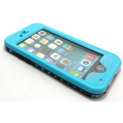 Red Pepper Waterproof Case for iPhone 6/6s (Blue)