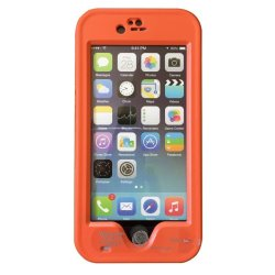Red Pepper Waterproof Case for iPhone 6/6s (Orange)