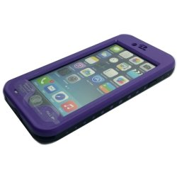 Red Pepper Waterproof Case for iPhone 6/6s (Purple)