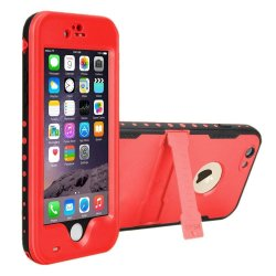 Red Pepper Waterproof Case for iPhone 6/6s (Red)