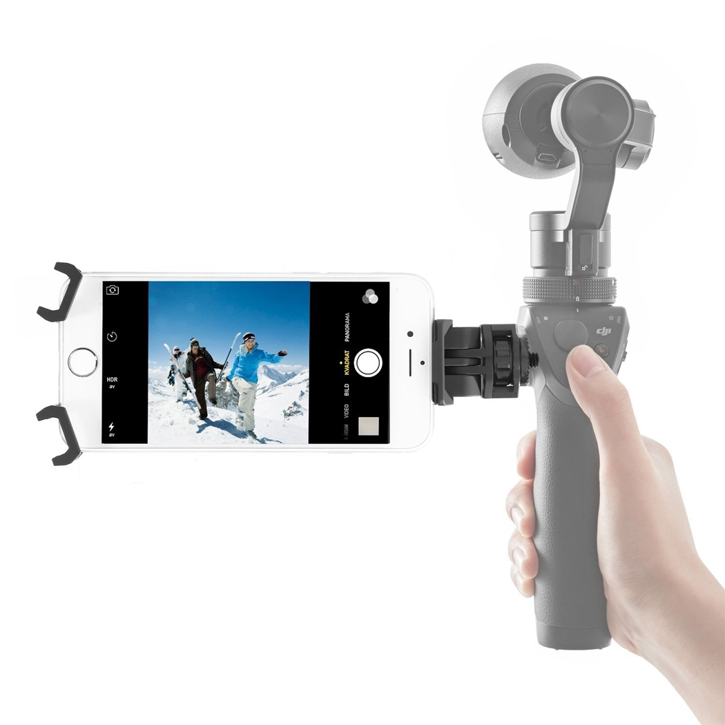 Replacement Cell Phone Holder for DJI OSMO - Adjustable Mount Cradle for iPhone 6 6s 6 plus 6s plus 5 5s / Android - Intl - thumbnail