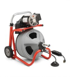Ridgid K-400 Drain and Pipe Cleaning Machine (Black)