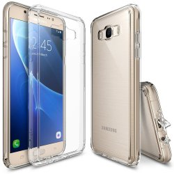 Ringke Fusion TPU Bumper Cover Case for Samsung Galaxy J7 2016 (Clear)