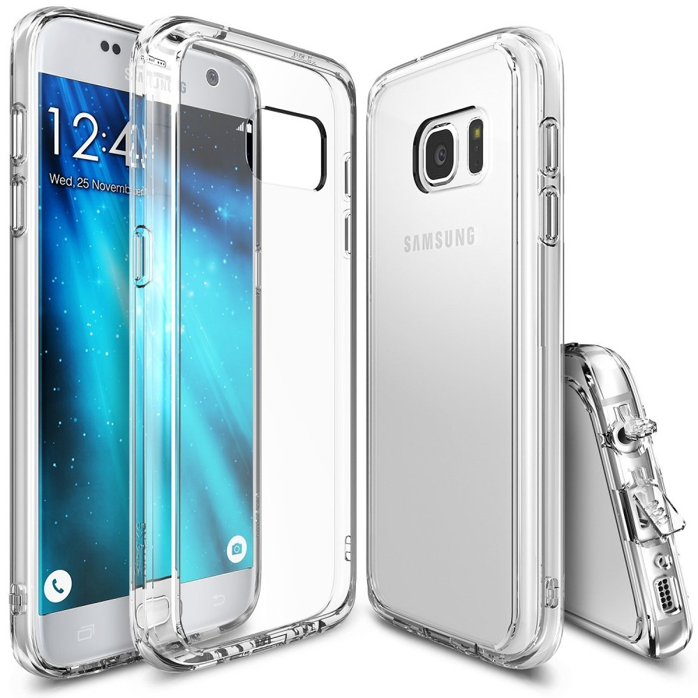 Ringke Fusion TPU Bumper Cover Case for Samsung Galaxy S7 (Clear)