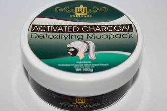 RJ Skin Care Activated Charcoal Mudpack 100g