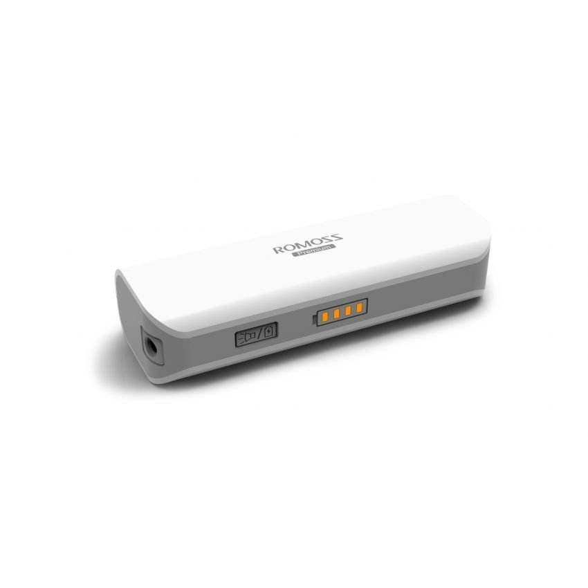 Romoss Sailing 1 2600mAh PowerBank with LED Torch (White) product preview, discount at cheapest price