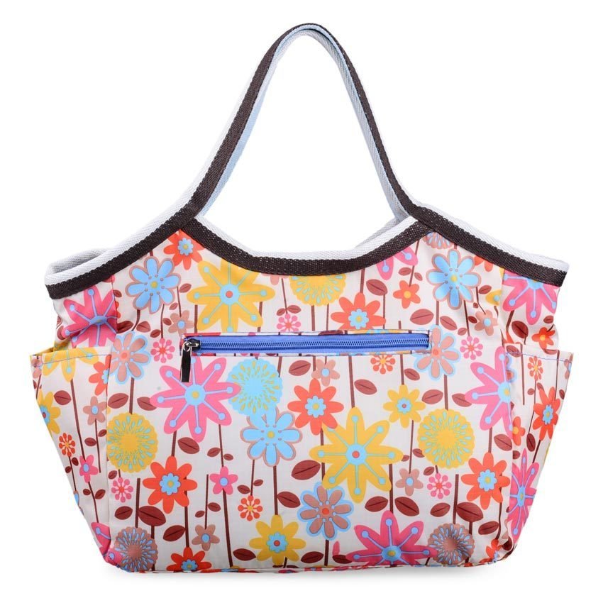 Royal Baby Floral Nursery Bag (Cream) product preview, discount at cheapest price