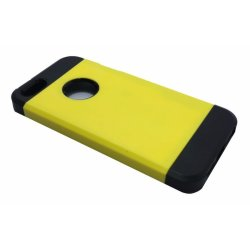 Rugged Shockproof Case for Apple iPhone 5 (Yellow)