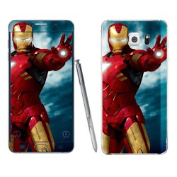 Samsung Galaxy Note 5 Iron Man Skin by Oddstickers
