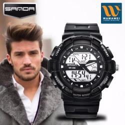 High Quality SANDA 726G Sports Waterproof Outdoor Men's Electronic Watch Fasion #30548