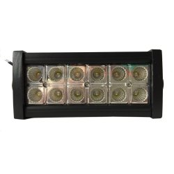 Sec 00572 Dual Color 36W LED Flood Light with Remote (Black)