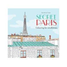 Secret Paris Adult Coloring Book
