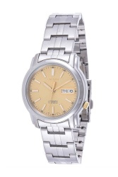 Seiko Automatic SNKL81K1 Silver All Stainless Steel Men's Watch