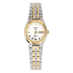 Seiko Automatic SYMK44K1 Silver/Gold All Stainless Steel Women's Watch