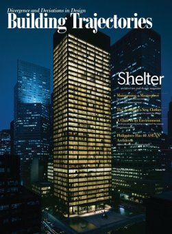 Shelter Architecture and Design Magazine - Building Trajectories
