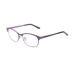 9e13c72d597 SHINU High quality stainless steel eye glasses clean lens frame for women optical  metal glasses SR8003C2