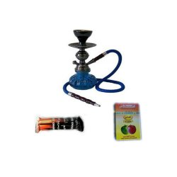 Shisha Smoking Glass Pipe 3-Piece Set